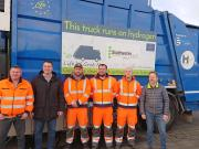 WaterstofNet organised the demonstration of a garbage truck on hydrogen in Hürth, near Cologne