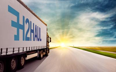 WaterstofNet partner in largest European heavy-duty project 'H2Haul'