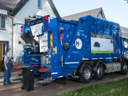 Europe's first hydrogen-powered garbage trucks with licence plate proudly presented in Brabant (NL)