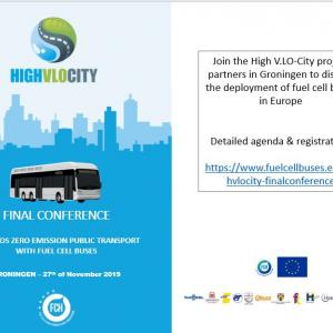 Finale Conference H2Bus Project HighVLOCity, Groningen