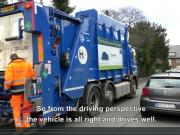 Video: hydrogen garbage truck demonstration in Hürth